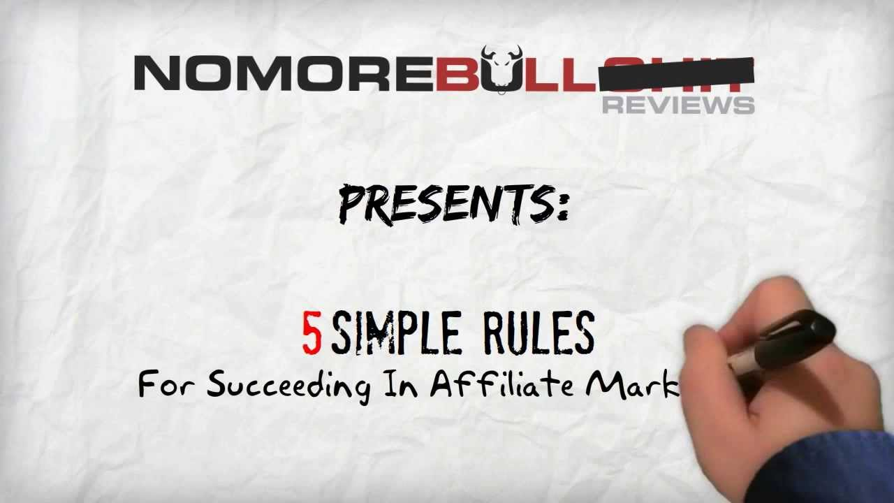 5 Rules for Succeeding in Affiliate Marketing